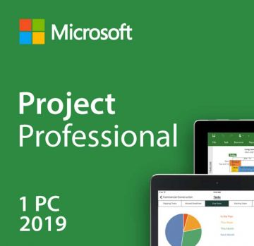 Microsoft Project Professional 2019 PC Product License Key