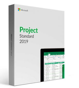 Microsoft Project Standard 2019  PC Product License Key