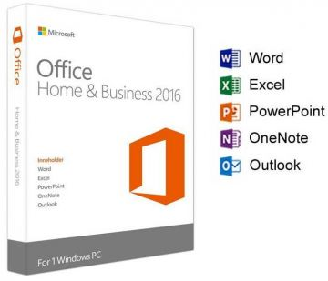 Microsoft Office Home & Business 2016 for Windows and Mac