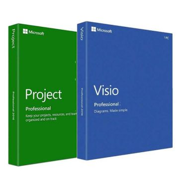 Microsoft Visio Project Office Professional 2019 Bundle