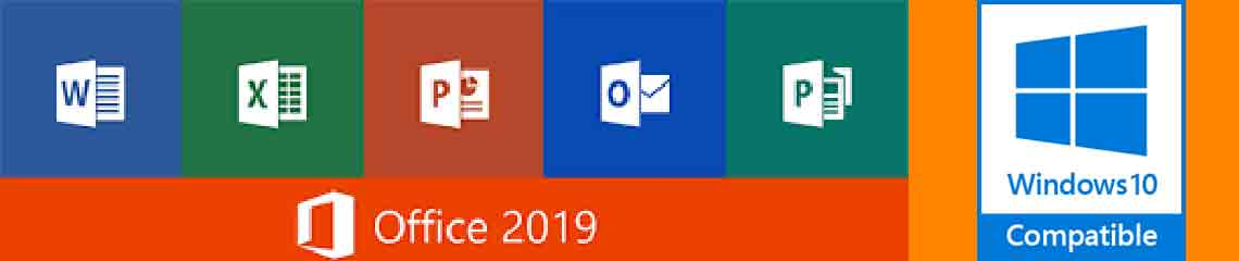 Microsoft office 2019 banner